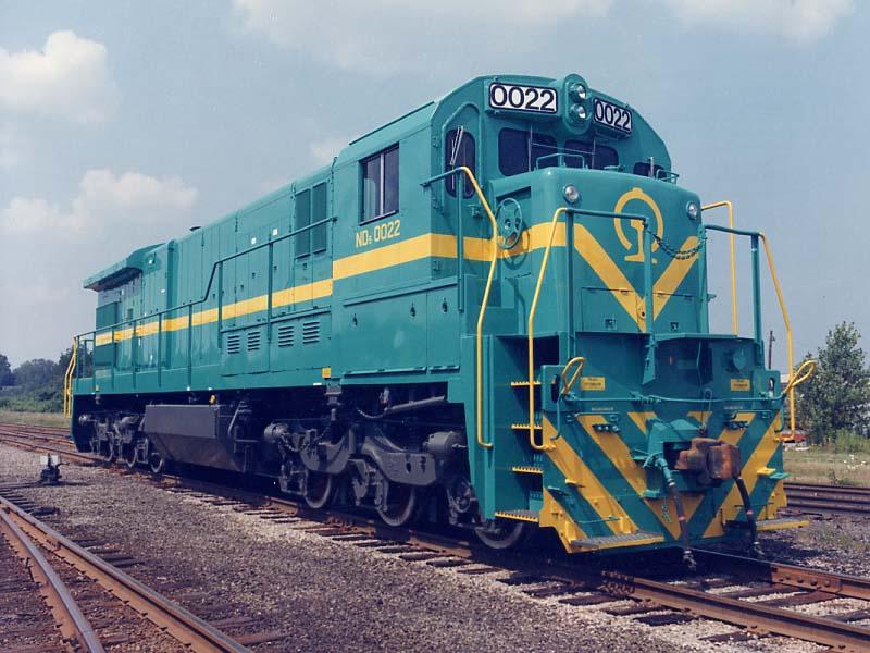 ND5型内燃机车第一批次式样1984年美国进口