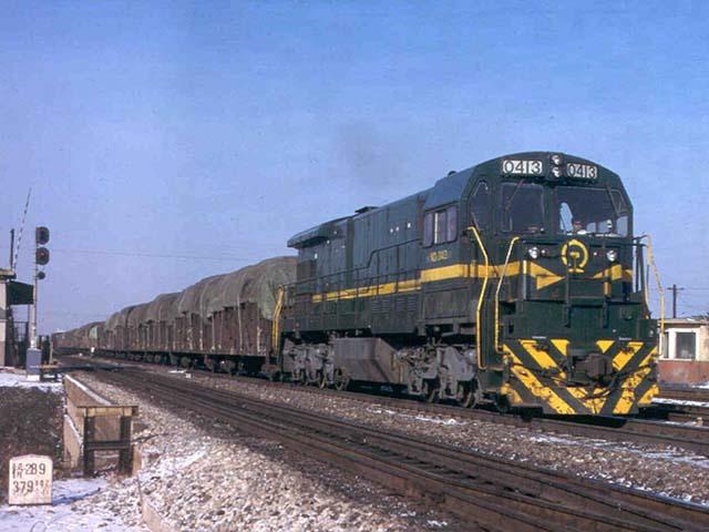 ND5美国GE内燃机车