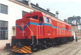 DF5DD型调车内燃机车