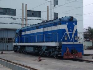 东风5型(DF5)调车内燃机车1462号