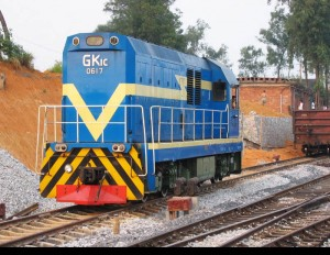 GK1C型工矿内燃机车0617号