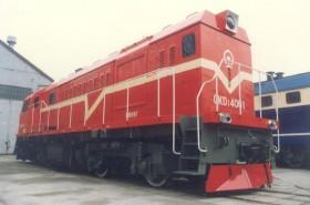 GKD1型调车内燃机车