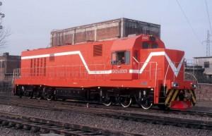 GKD3B型调车内燃机车0003号