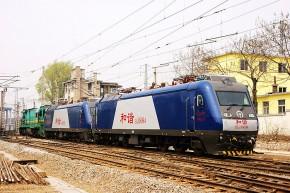 和谐3型(HXD3)货运电力机车8084号