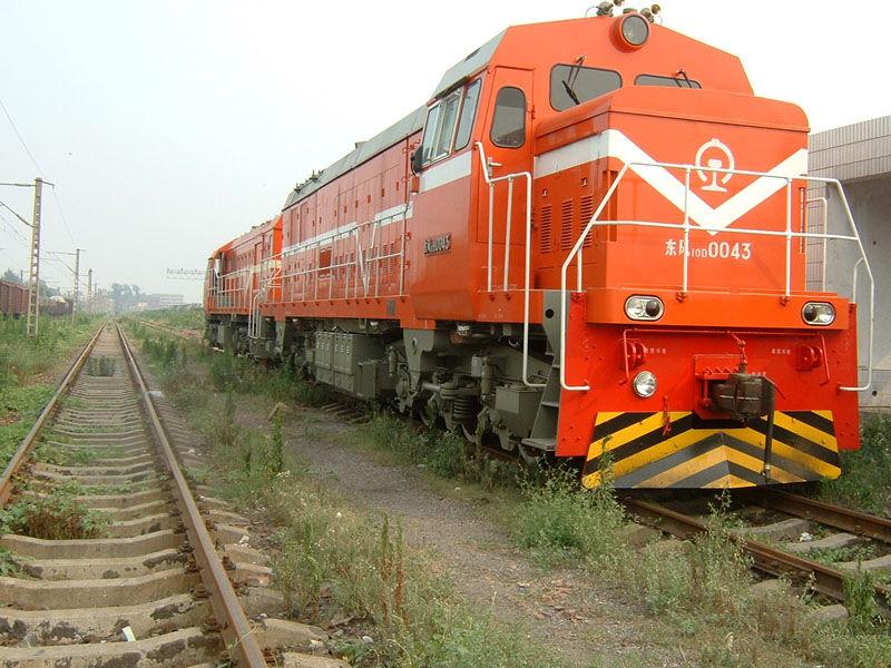 东风10DD型调车内燃机车-橘红色