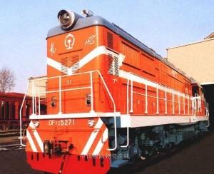 东风7C型(DF7C)模块化内燃机车