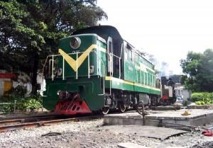 GK1C型工矿内燃机车0136号