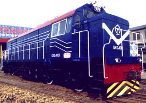 GKD0 DIESEL ELECTRIC LOCOMOTIVE