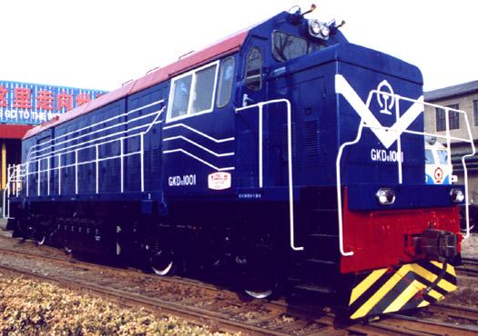 GKD0型调车内燃机车