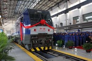 和谐1型HXD1B西门子大功率货运电力机车