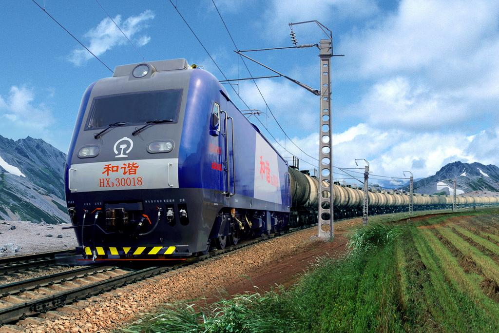 和谐3型(HXD3)货运电力机车0018号