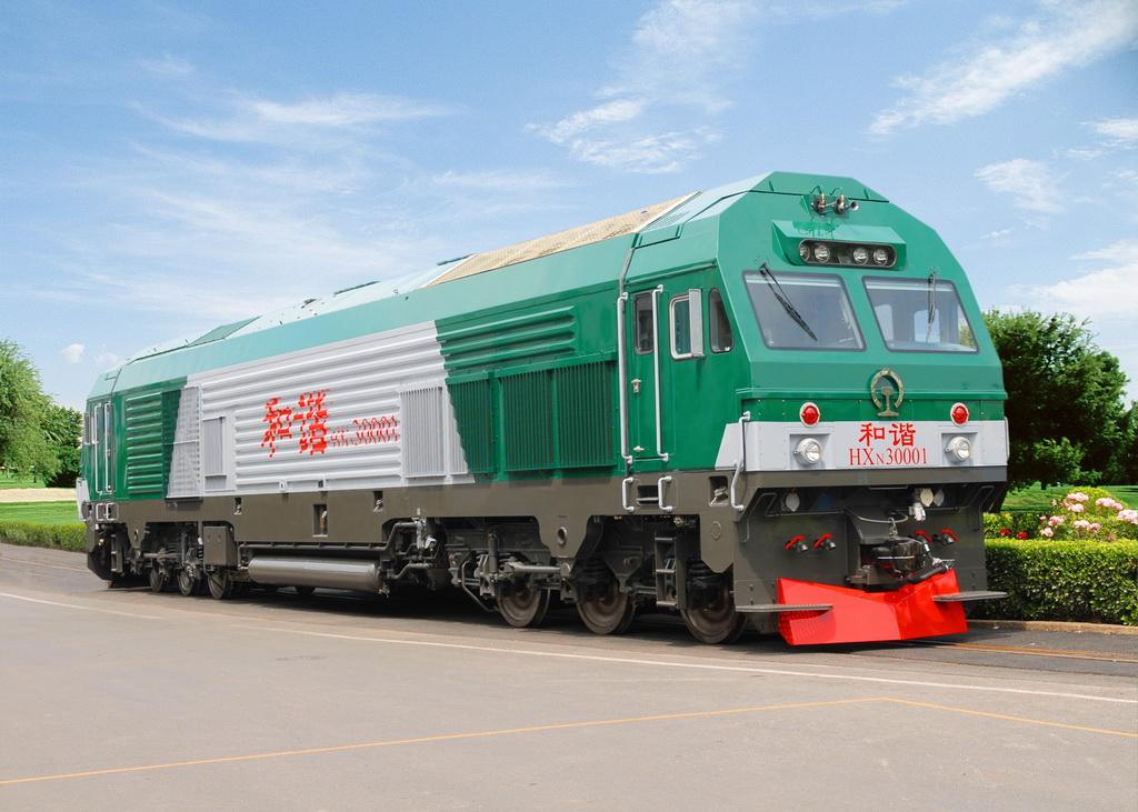 和谐3(HXN3)EMD货运内燃机车