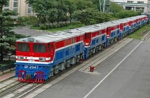 CKD7B型内燃机车出口缅甸
