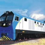 CKD8C型内燃机车出口东南亚-非洲