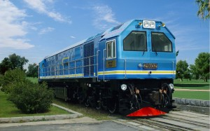 CKD8E型29型内燃机车出口马来西亚29102号
