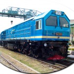 CKD8E Diesel-electric Locomotive (Exported to Malaysia)