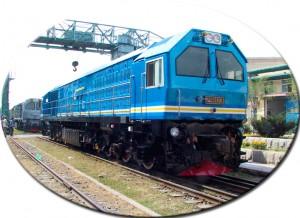 CKD8E型29型内燃机车出口马来西亚29103号