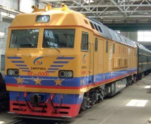 东风8BJ(DF8BJ)型客货运交流内燃机车