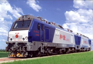 和谐型(HXD2)大功率交流货运电力机车