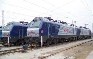 和谐型HXD2电力机车