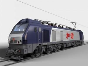 HXD2B和谐2b型干线货运电力机车模型
