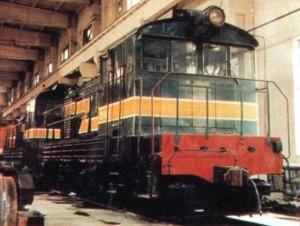 ND1内电1型内燃机车匈牙利进口