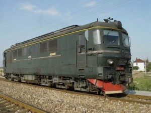 ND2型内燃机车罗马尼亚制造