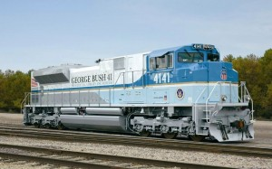 George Bush #4141 SD70ACe Locomotive
