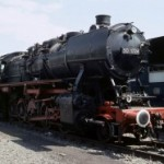 德国BR50型蒸汽机车