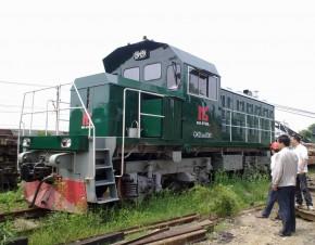 GKD5BG型调车内燃机车-0001号