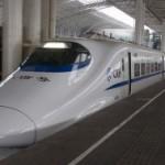 和谐号CRH2型中国高铁电力动车组