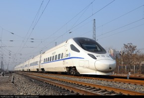 和谐号CRH5型中国高铁电力动车组030A-D192