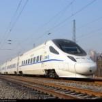 和谐号CRH5型中国高铁电力动车组