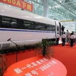 """新一代高速列车""""和谐号""""380A在长春下线"""