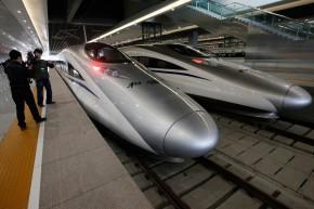 和谐号CRH380A新一代高速电力动车组
