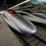 沪杭高铁和谐号CRH380A新一代高速动车组