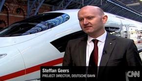 德国演示新一代高铁动车ICE 3