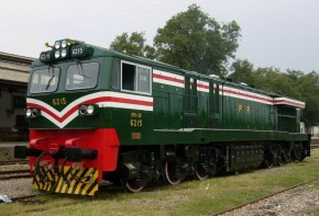 CKD8D Diesel-electric Locomotive (Exported to Pakistan in 2003)