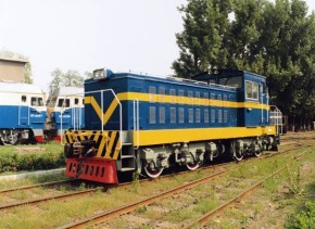 GKD5B Diesel-electric Locomotive (Exported to North Korea in 1997)