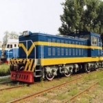GKD5B Diesel-electric Locomotive (Exported to North Korea)