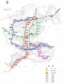 大连市城轨交通线网规划
