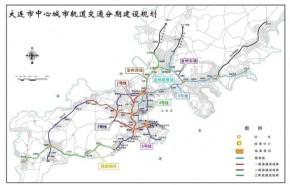 大连中心城区轨道交通分期建设规划
