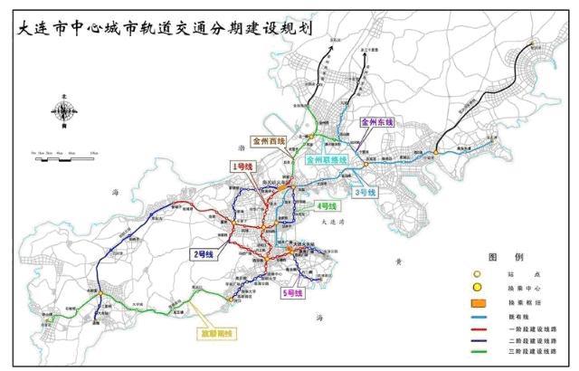 规划4号线换乘,车站与哈大客运专线站房合建,采用地下一层双岛式站台