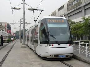 上海张江现代有轨电车 LOHR_Translohr_STE_3
