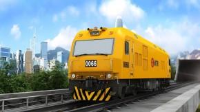 CKD0A型内燃机车(MTR香港地铁)