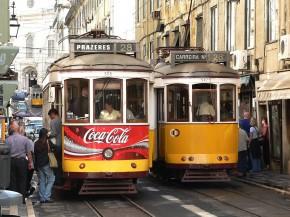里斯本28路有轨电车 Tram 28 in Lisbon