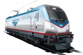"ACS64型""城市短跑手""电力机车 Amtrak Cities Sprinter"
