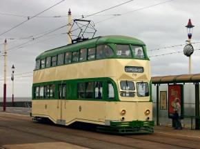 黑池双层有轨电车 Blackpool double deck Balloon tram