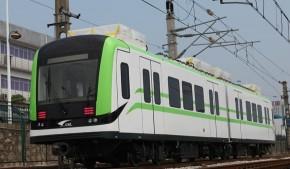 南车株电研制的超级储能式电力牵引轻轨车辆