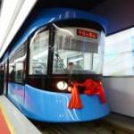 长客研制100%低地板轻轨车2012年在长春